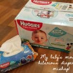My baby's most hilarious diapering mishap!