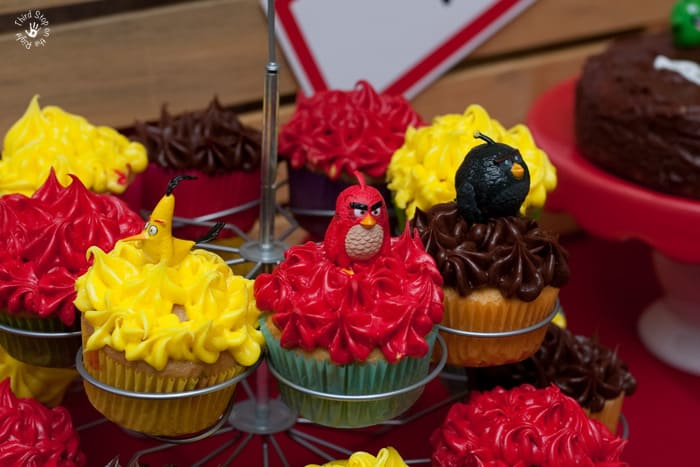AngryBirdCupcakes