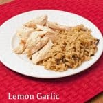 Lemon Garlic Marinaded Chicken