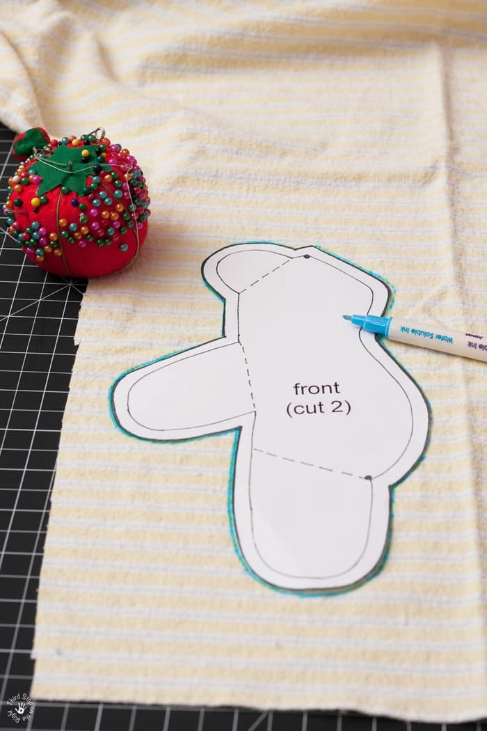 Miniature Baby Clothes Memory Bear Third Stop On The Right