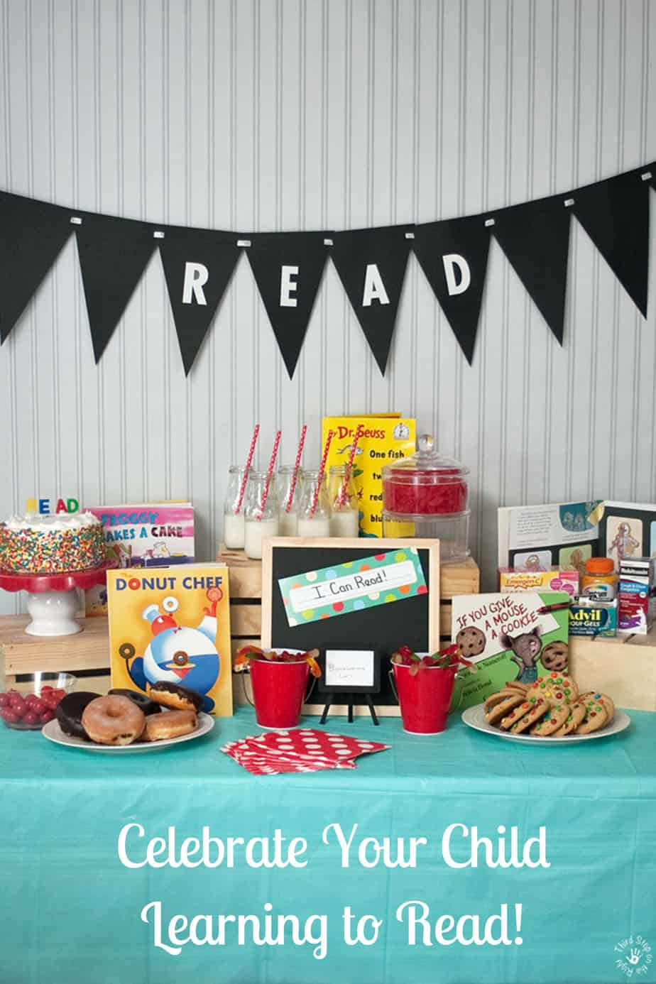 Celebrate Your Child Learning to Read With a Reading Party!