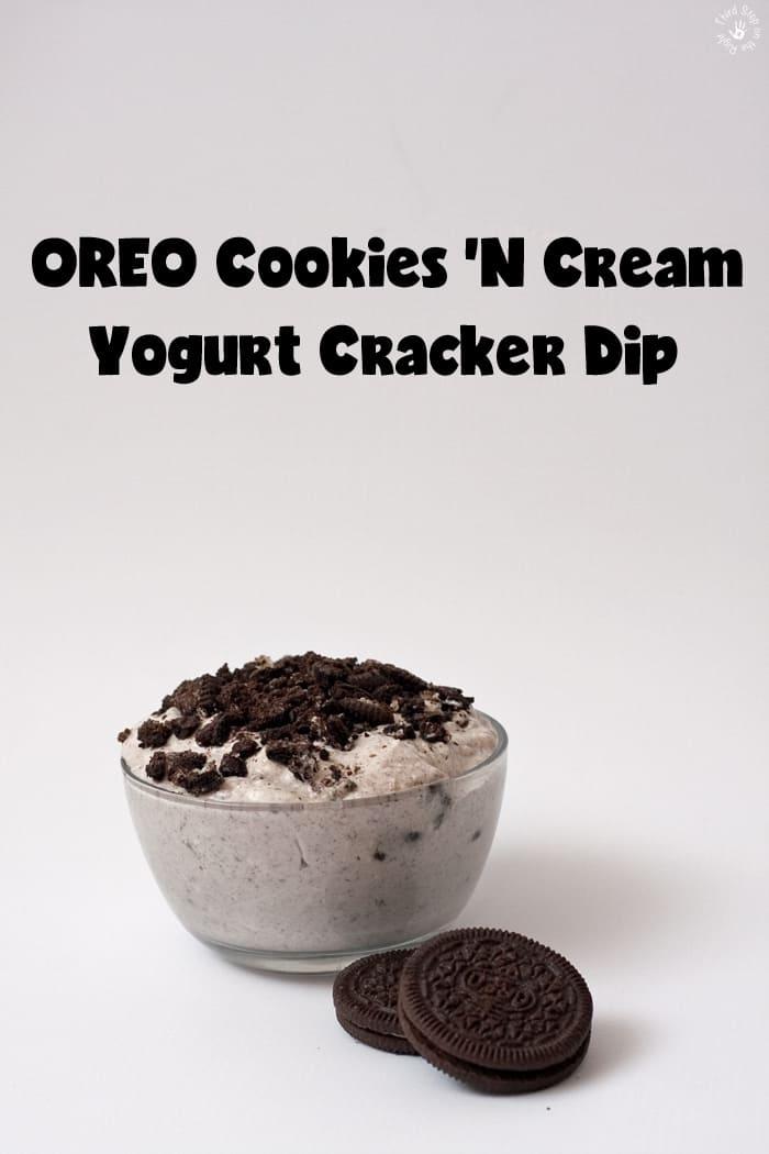 OREO Cookies 'n Cream Yogurt Cracker Dip