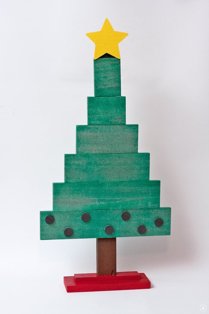 paintedchristmastree