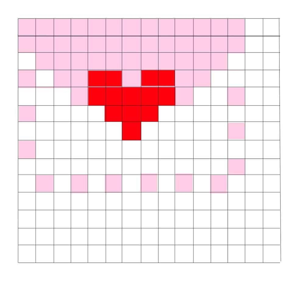 ValentineEnvelopeGrid