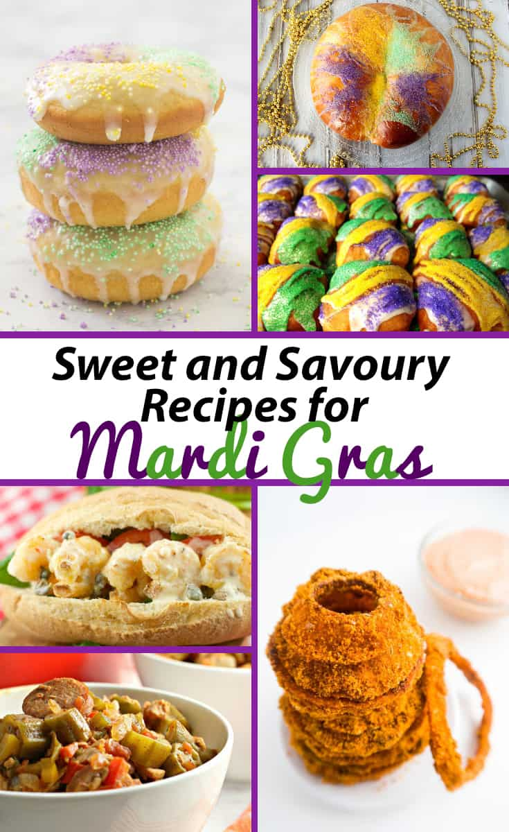 Sweet and Savory Mardi Gras Recipes