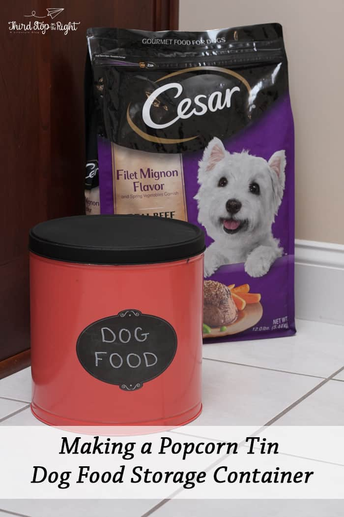 CESARDogFoodContainer
