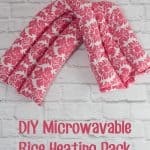 Homemade Rice Heating Pack Tutorial
