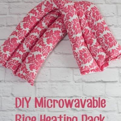 Homemade Rice Heating Pack Tutorial