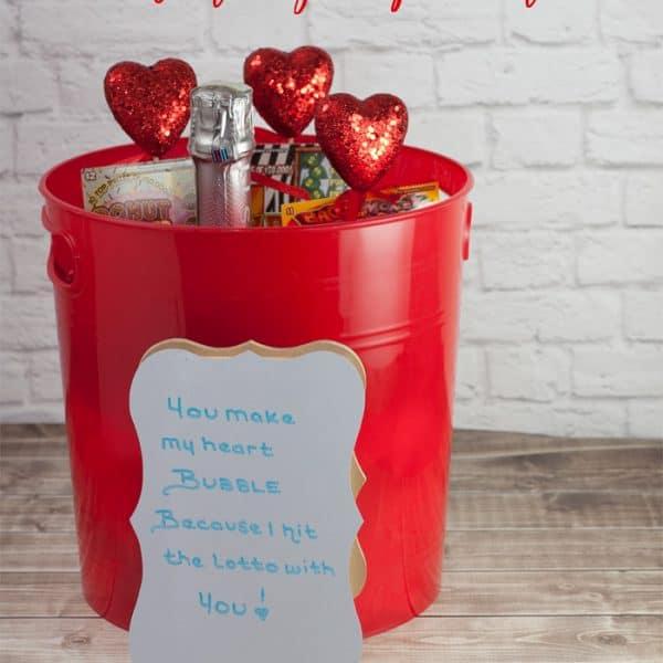Valentine's Day Gift Bucket Idea