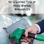 Score Double Fuel Points for a Limited Time at Ahold Stores! #AholdV2X