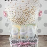 Make a Hot Air Balloon Gift Basket