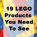 19 LEGO Products You Need to See