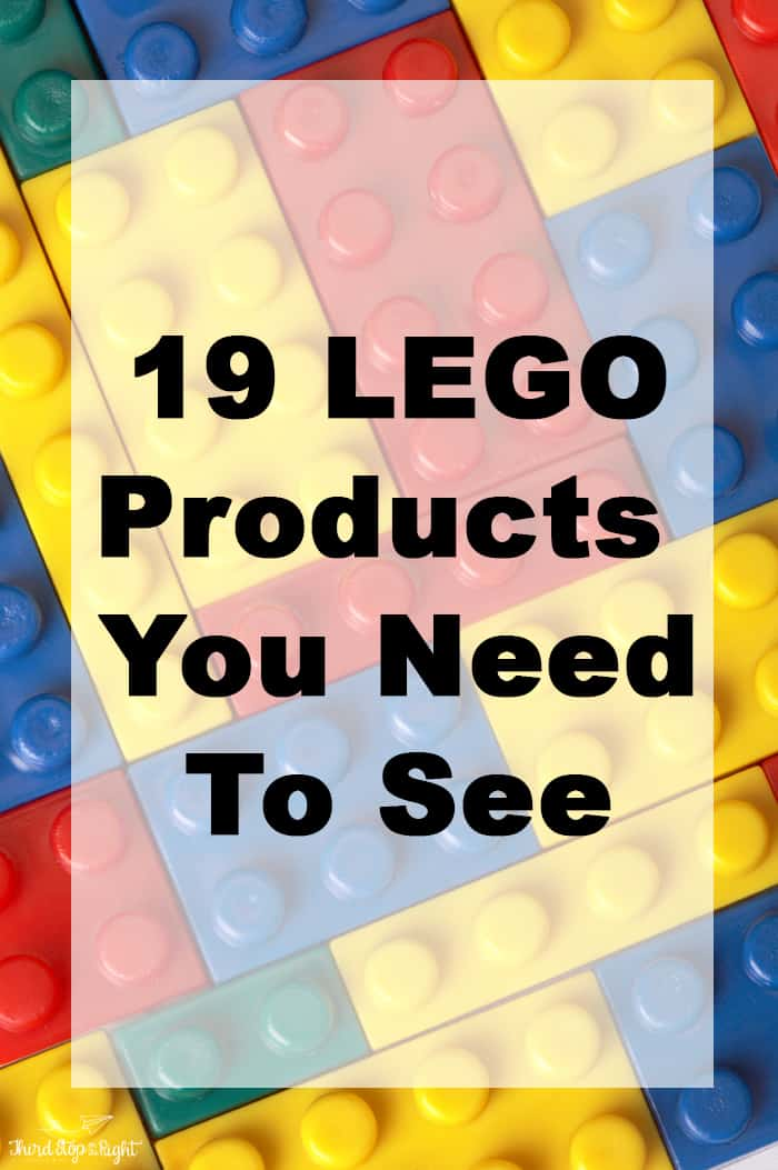 19 LEGO Products