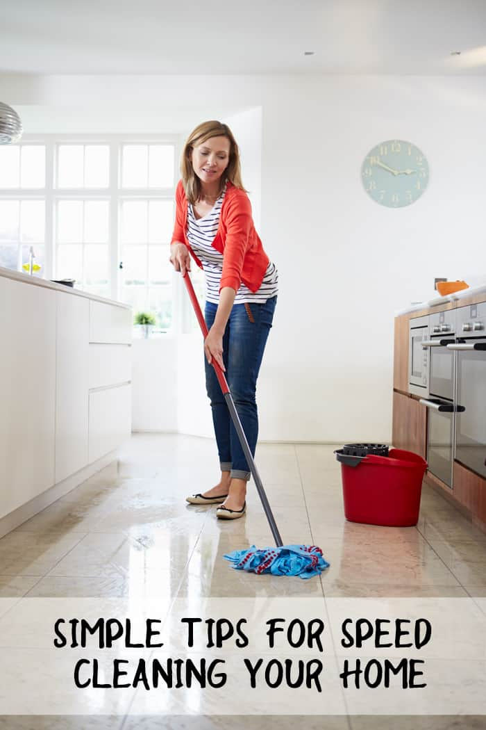 Simple tips for speed cleaning your home third stop on for Minimalist house cleaning