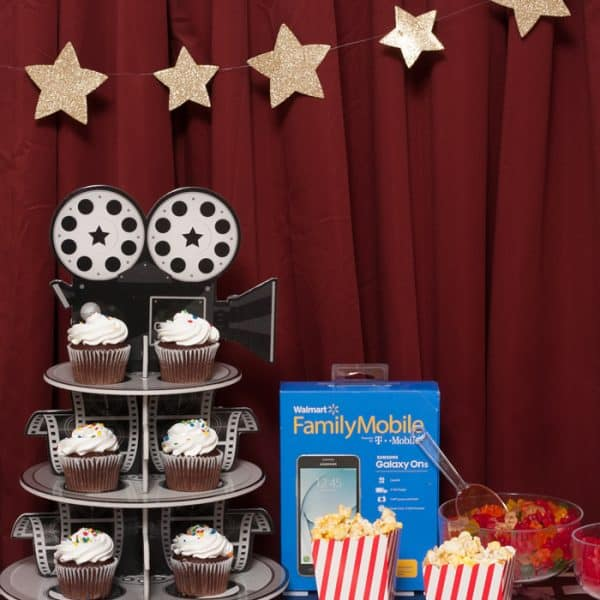 Celebrate Family With a Movie Night Party!
