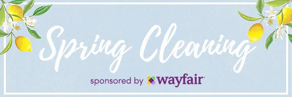 Wayfair Spring Cleaning Tips