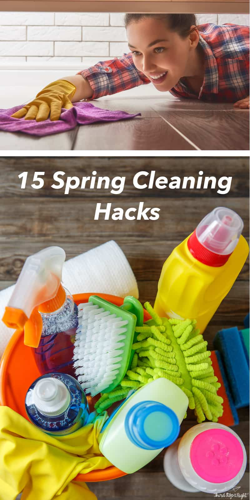 These 15 cleaning hacks will make your life so much easier when it comes to spring (or everyday) cleaning!