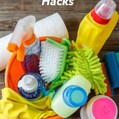 15 Easy Spring Cleaning Hacks