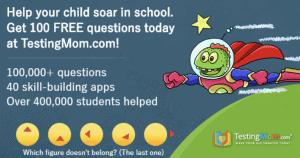 Testing Mom Free Questions