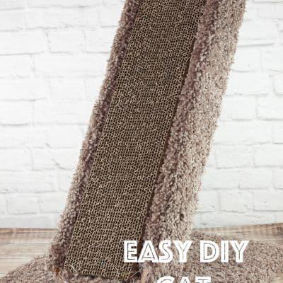 Building a Corrugated Cardboard Scratching Post