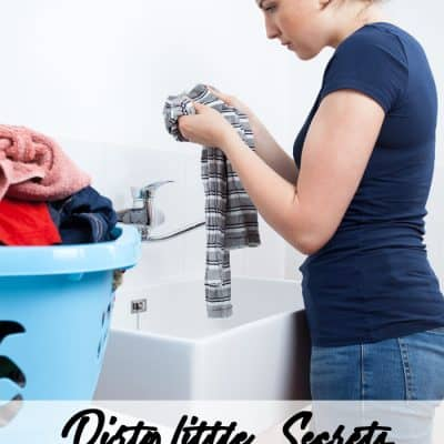 Dirty Little Secrets – Getting Stains Out The Easy Way