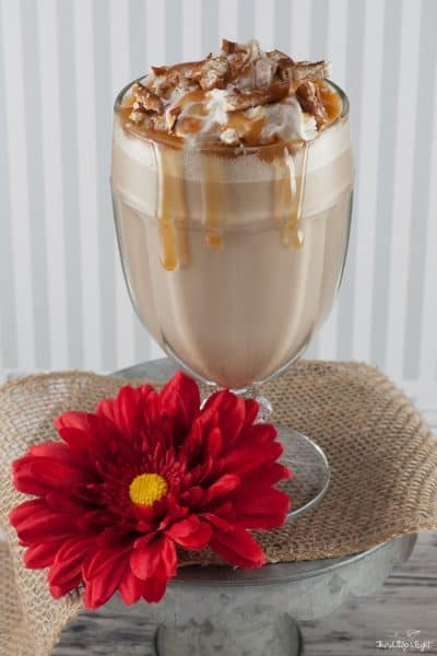 Cool Down with a Salted Caramel Frappe This Summer