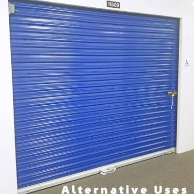Thinking Outside the Box: Alternative Uses for a Storage Unit
