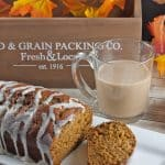 Pumpkin Bread With Cream Cheese Drizzle Icing