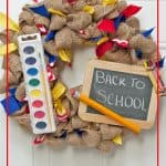Back To School Wreaths Are The Perfect Teacher Gifts