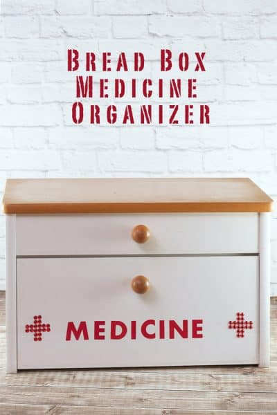 Create A Medicine Organizer from a Bread Box