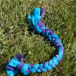 Making an Upcycled T-shirt Dog Pull Toy