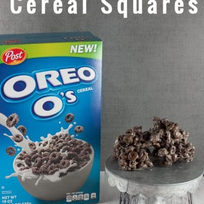 OREO O's Cereal Squares Snack