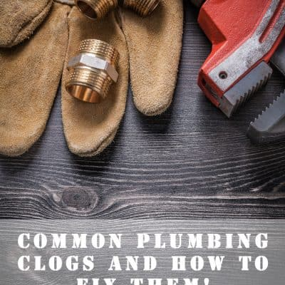 Common Clogs and How To Avoid Them