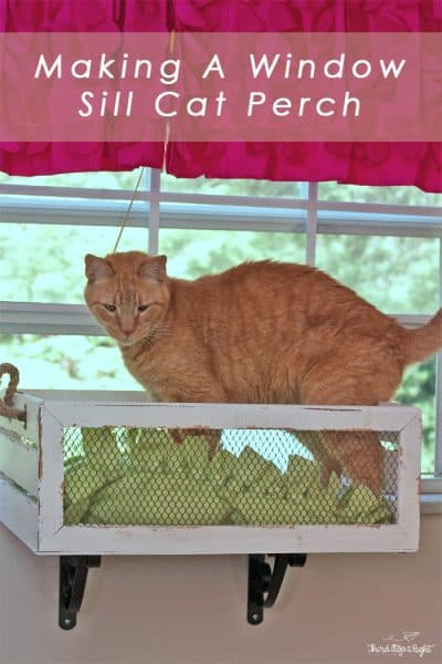 Making a Window Sill Cat Perch