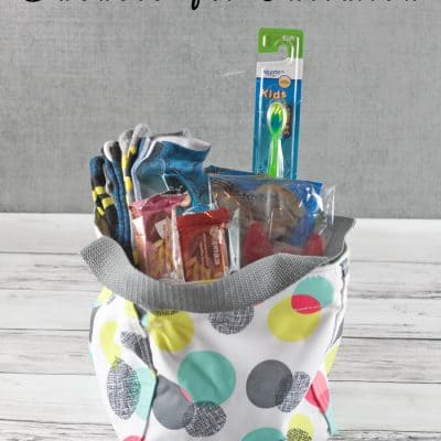 Give Back With Gift Baskets for Children