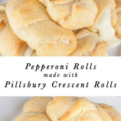 Easy Pillsbury Crescent Roll Pepperoni Rolls