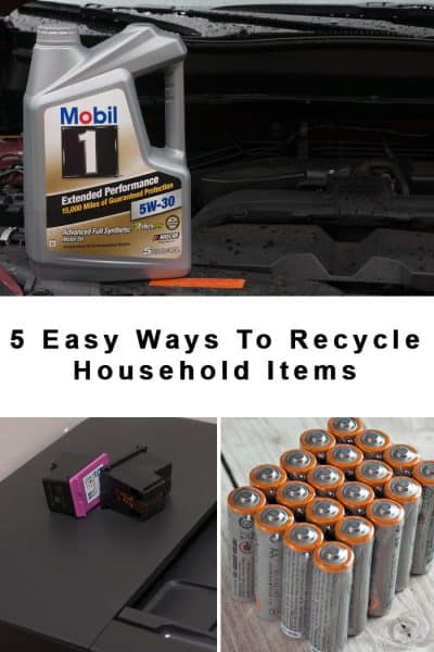 5 Easy Ways to Recycle Around The House
