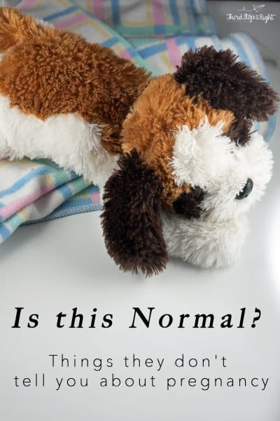 Is This Normal? Things They Don't Tell You About Pregnancy