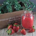 Summer Strawberry Soy Jar Candle