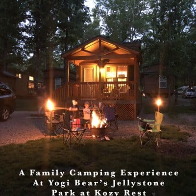 A Family Camping Experience at Yogi Bear's Jellystone Park at Kozy Rest