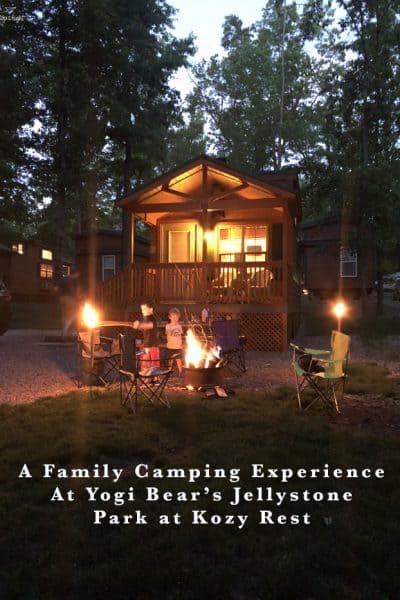 A Family Camping Experience at Yogi Bear's Jellystone Park at Kozy Rest