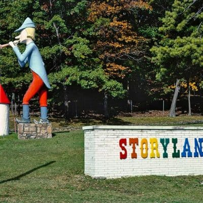 Abandoned Storyland Park in Pennsylvania