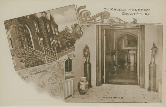 Beatty, PA - St. Xavier Academy Main Entrance Vestibule - a