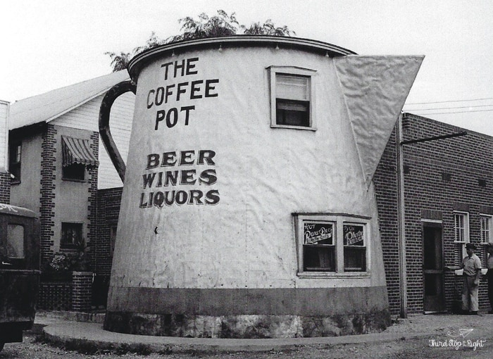 The Bedford PA Coffee Pot in its heyday operated as a bar.