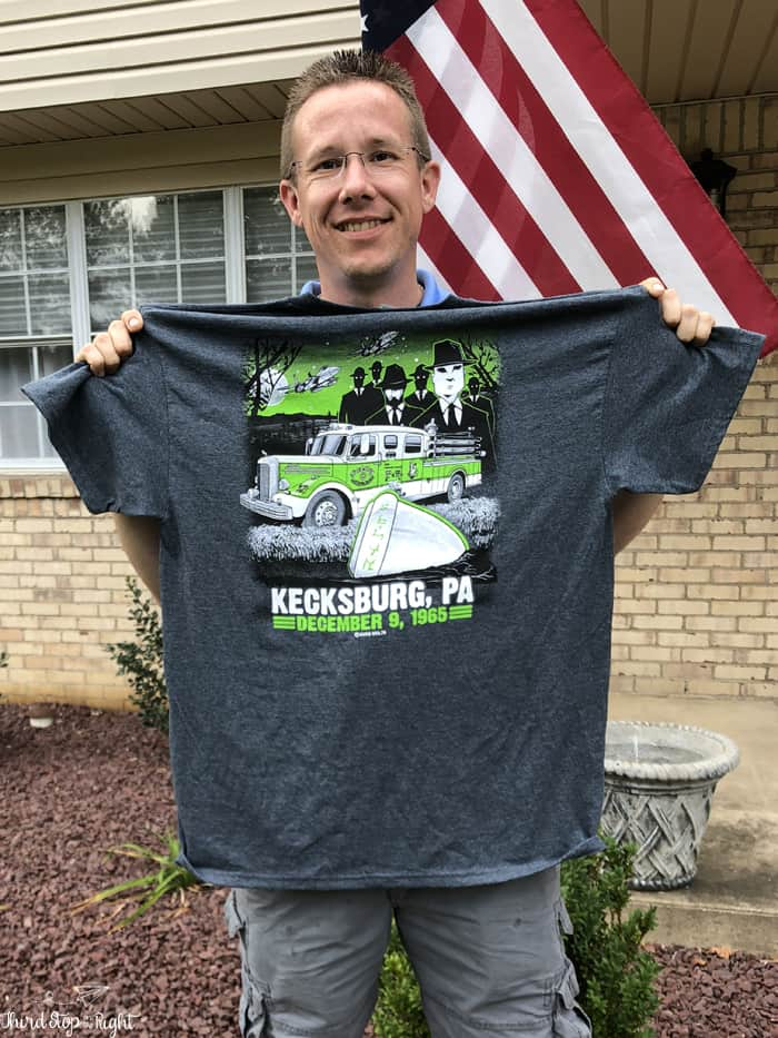Kecksburg UFO T-Shirt