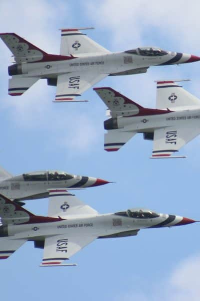 U.S. Air Force Thunderbirds at the Westmoreland County Air Show