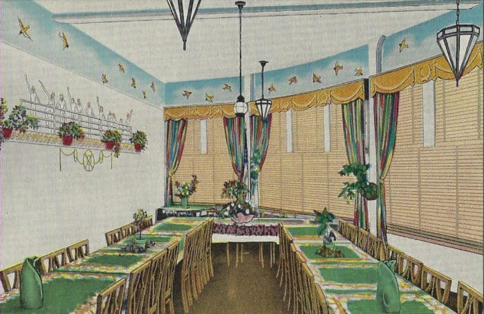 Banquet Room of the Ship Hotel