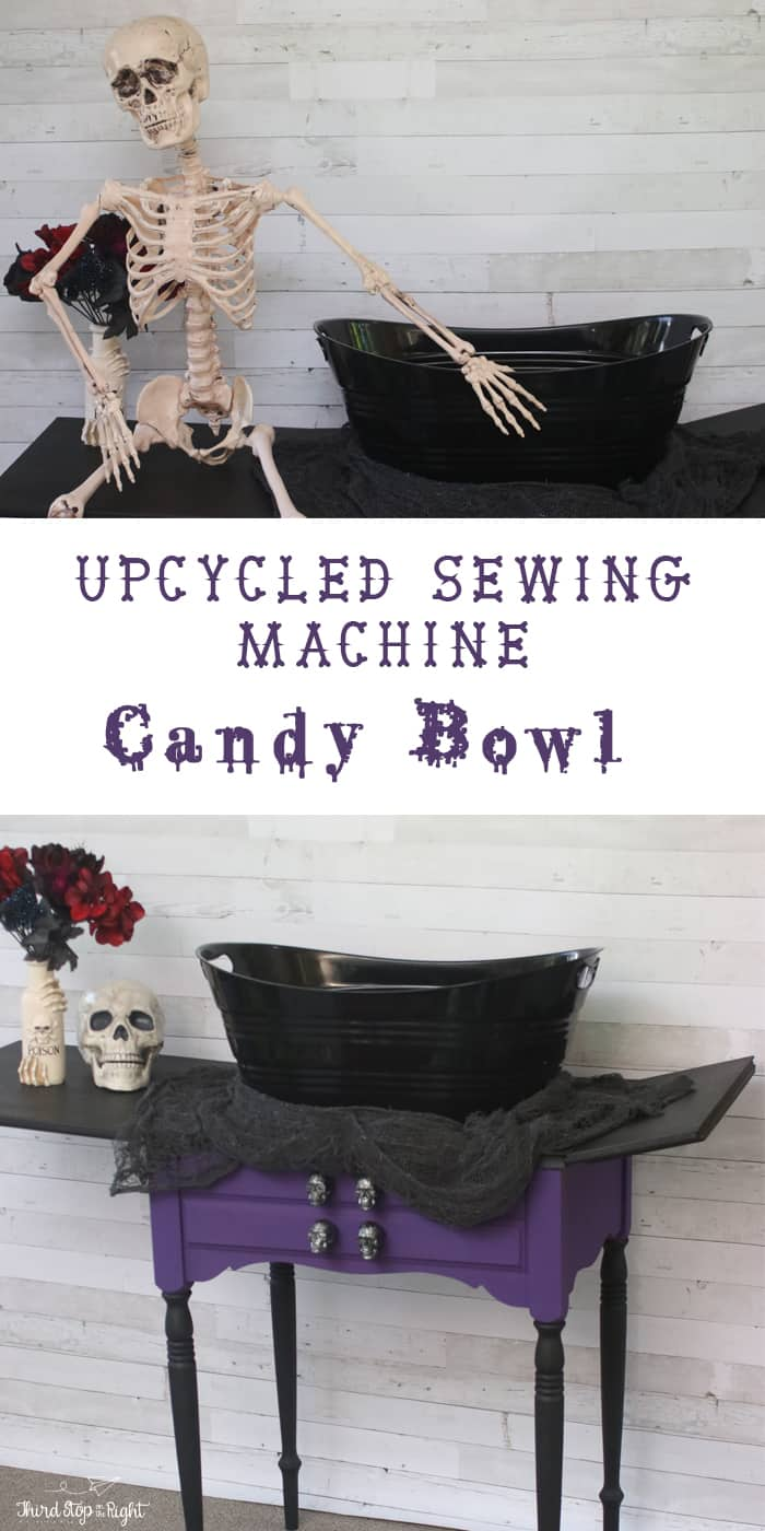 Halloween Candy Bowl Stand