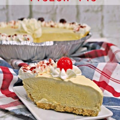 Cool Off This Summer With a Root Beer Float Frozen Pie