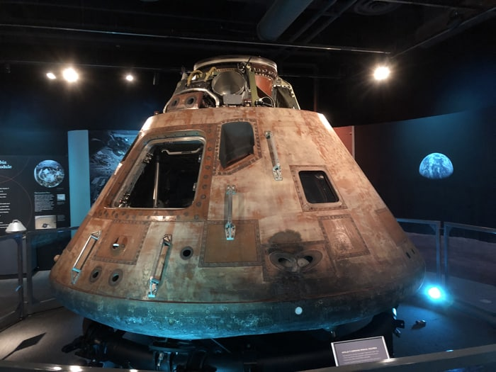 Destination Moon Columbia Space Module